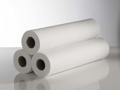 Picture of White 20 Couch Roll (2ply, Pack of 9)