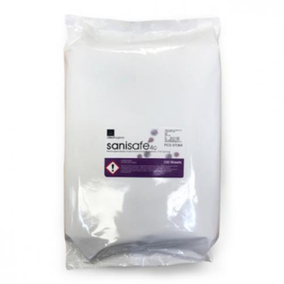 Picture of Antibacterial/ Medical Wipes (3 Packs of 100 Wipes Each, Size L)