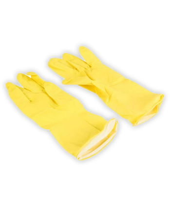 Picture of Yellow Household Gloves Large (1 Pair)