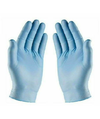 Picture of Blue Nitrile Powder Free Gloves Small (10 Boxes of 100 Pieces)